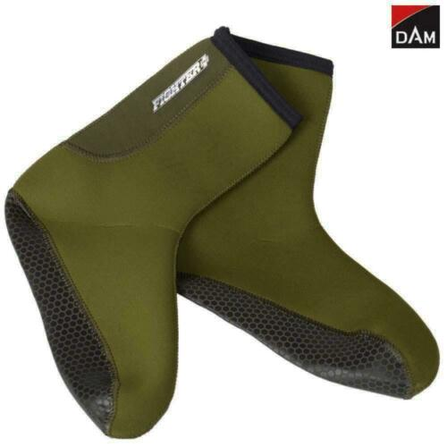 ALL SIZES 3mm DAM NEOPRENE SOCKS FIGHTER PRO HUNTING FISHING SOCKS