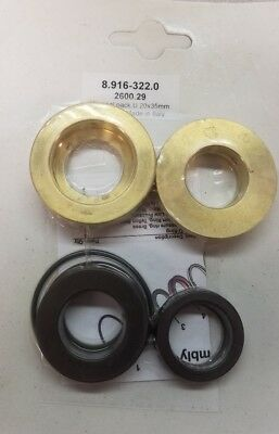 70-260031 8.916-488.0 Seal Kit 20mm U-Seals Hotsy//Landa//Karcher//Legacy 89164880