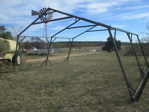 Details about 16' x 20' Used Temper Tent Frame, Expandable Tent, Good Cond   Military Tent
