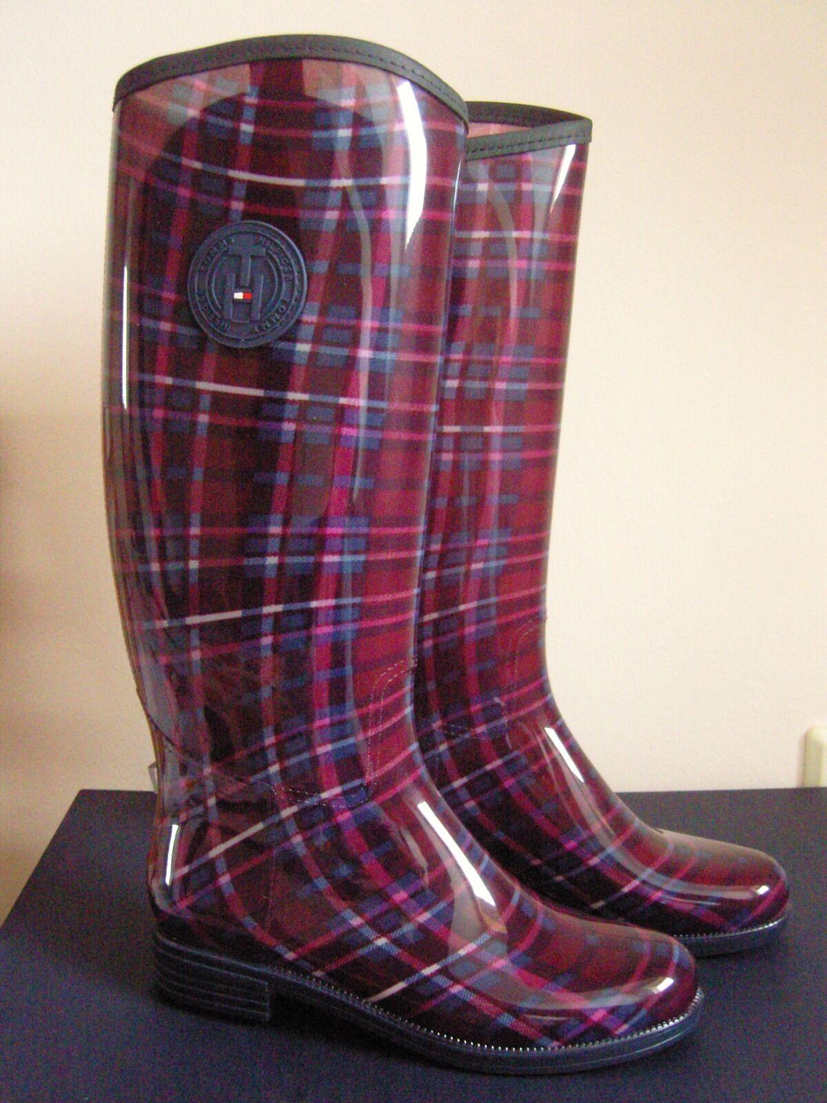 Tommy Hilfiger Oxbridge, Damengummistiefel Günstige und gute Schuhe