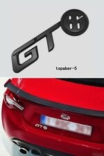 Matte Black GT86 Emblem Trunk Sticker ABS Badge