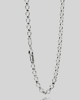 Rolo Design Solido Special Buy 20''' Lungo Argento Sterling 925 Catenina Rolo040
