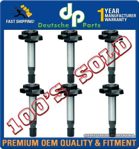 HONDA ODYSSEY ACCORD ACURA TL CL V6 Ignition Coil Coils 6 x 30520-P8E-A01 SET