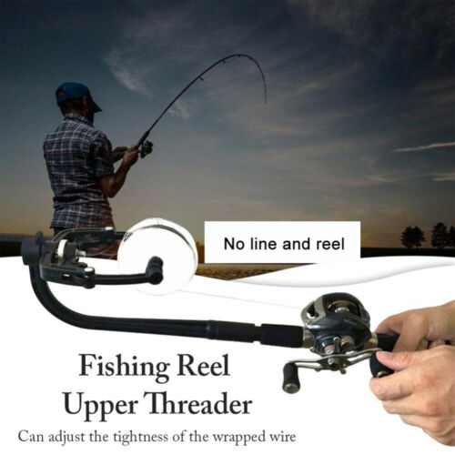Top Fishing Line Winder Line Spooler Tool Spinning Reel System Fully Adjustable