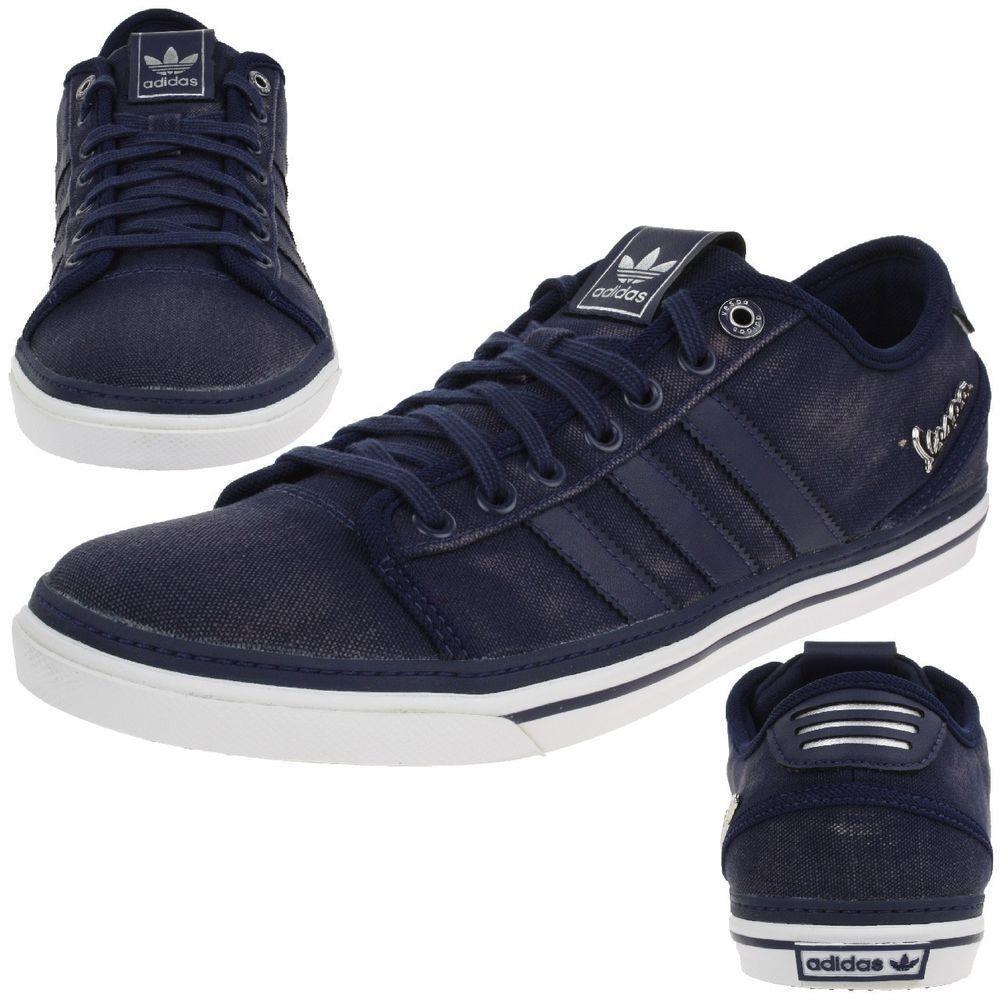 Adidas originale vespa gs   mens formatori tela buio indigo scarpe | Nuovo Arrivo  | Uomini/Donna Scarpa