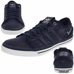 cheap for discount 83a89 5c6ce Image is loading adidas-Original-Vespa-GS-Lo-Mens-Trainers-Canvas-