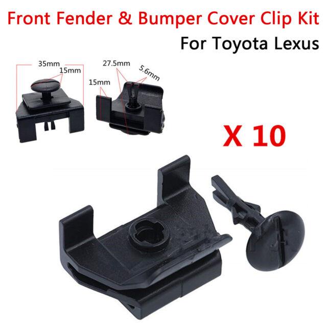 4 Sets Front Fender /& Bumper Clip 53879-58010 47749-58010 For Toyota Lexus