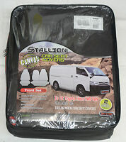 Full Car Pack Waterproof Canvas Car Seat Covers Toyota Hiace 05-on