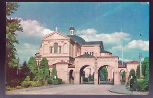 WASHINGTON-DC-Franciscan-Monastery-and-Church-Vintage-Postcard-PC