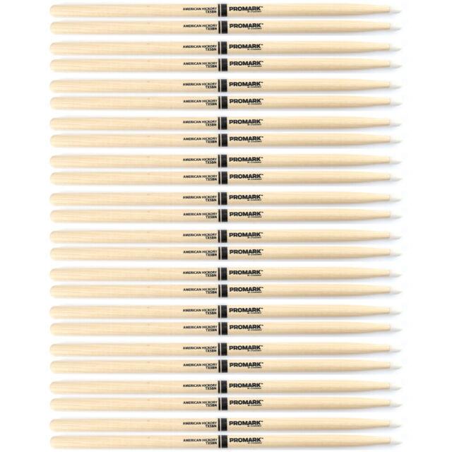Pro-Mark TX5BW Hickory 5B Wood Tip Drumsticks Single Set