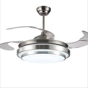 Gentil Image Is Loading LED Invisible Ceiling Fan Light Modern Dining Room