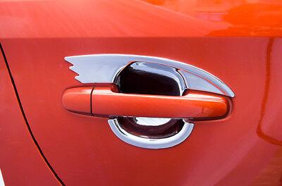 For 2016-2019 Toyota Scion Yaris Sedan iA Chrome Door Handle COVERS+Mirrors