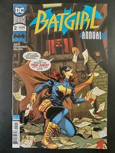 BATGIRL-2-Annual-2018-DC-Universe-Comics-VF-NM-Book