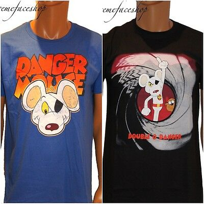 Official Danger Mouse mens and ladies, youth t shirts, character tees, retro hip