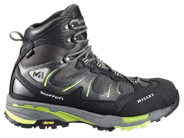 Millet LD Switch GTX Greenery black Womens Hiking shoes Boot US 8 MIG1252