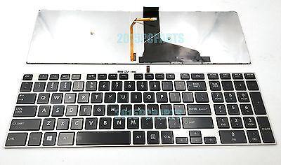 New US Non-backlit Laptop Keyboard No-Frame For Toshiba Satellite L50-B L50D-B L50t-B L55-B L55D-B L55T-B L55DT-B Series Black Notebook