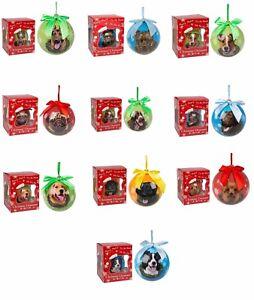 Cane-da-Compagnia-Pallina-di-Natale-Decorazione-Albero-Memoriale-Ornamento