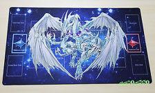 C1594 Free Mat Bag Custom Playmat YUGIOH Stardust Dragon Play Mat Pendulum Zones