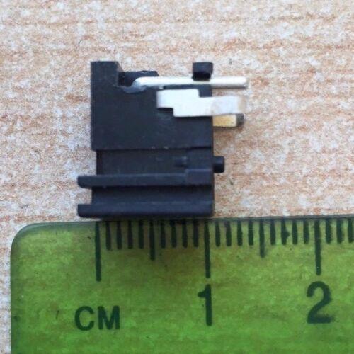 2.1 mm PCB Power Socket angle droit avec Rainure UK Stock Pack de 4 Z1418