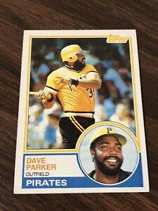 1983 Topps Dave Parker #205 VG Lets Go !!!!!