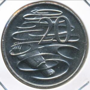 Australia, 2000 Twenty Cents, 20c, Elizabeth II - Uncirculated