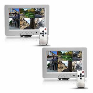 Pyle-PLVW92U-9-034-Universal-LCD-Wall-Mount-1080p-Monitor-Display-Screen-2-Pack