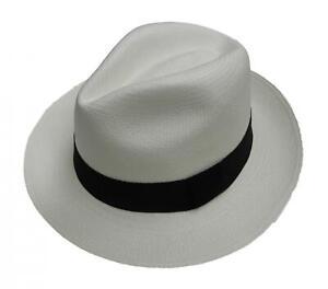 raccolto nuovo autentico scarpe temperamento Dettagli su NUOVO Originale Rolling Panama Cappello Ecuador Terra di pari  qualità commercio equo e solidale-Bianco- mostra il titolo originale