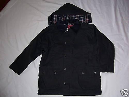 CERA per Bambini Blu Navy Cappotto/Giacca A CAVALLO/Passeggiate/Schoolwear età 3/4 anni