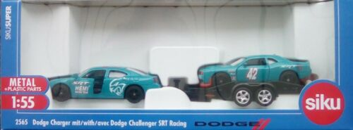 Dodge Challenger SRT racing-entrega inmediata Siku 2565-Dodge Charger