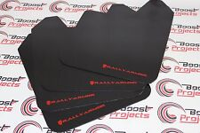 RALLY ARMOR BASIC UNIVERSAL MUD FLAPS RED MF12-BAS-RD GLOBAL SHIP IN STOCK