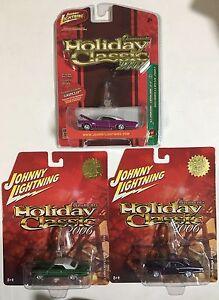 Johnny-Lightning-Holiday-Classic-2006-2007-Pontiac-Catalina-Impala-Superbee-1-64