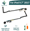 For-iPad-9-7-034-2017-A1822-A1823-Home-Button-Flex-Cable-Ribbon-821-01006-Black-New thumbnail 1