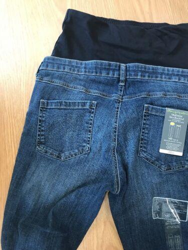 """Mothercare maternidad Delgado Bootcut JeansTamaño 10L 33/""""sobre o bajo el Bump"""