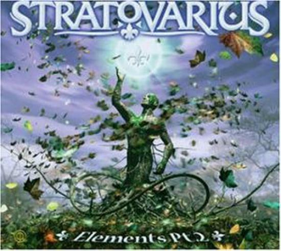 Tee Shirt Stratovarius - Elements Pt.2 Cd-Box #G14946