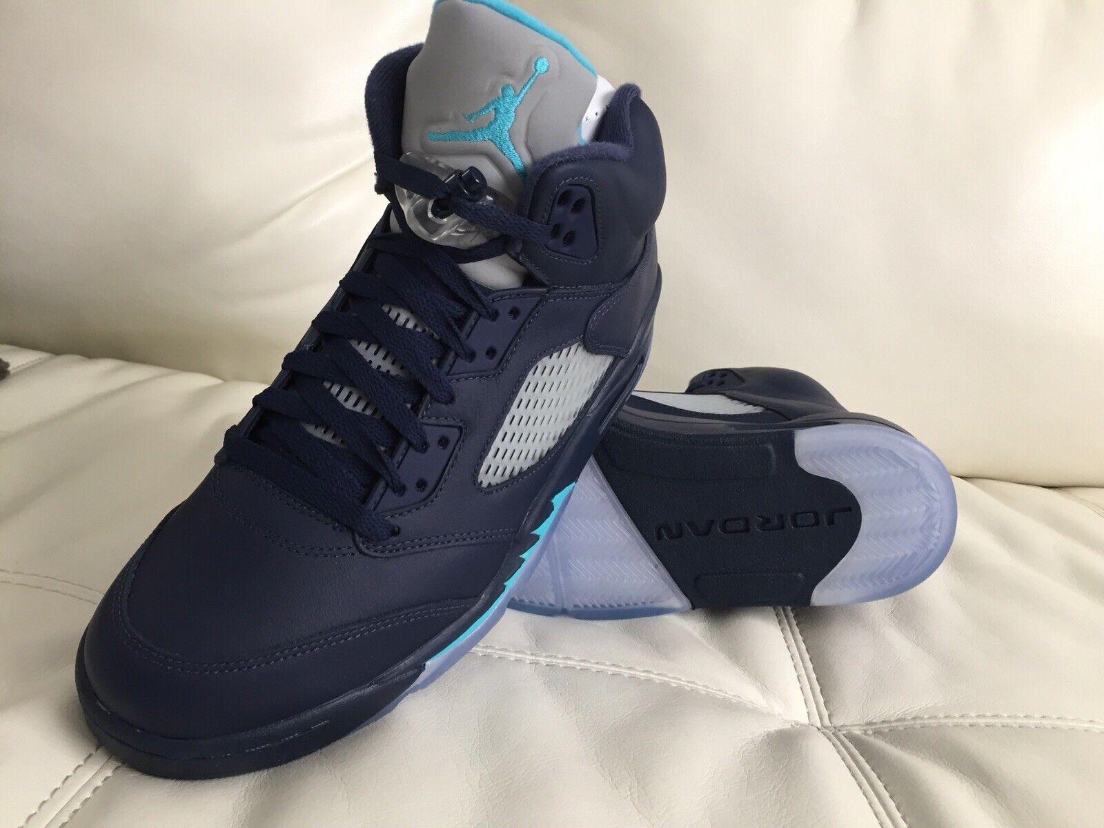 Air Jordan Retro 5 5 5 Pre Grape Dimensione Uomo US 10.5 Bnib Ds 100% Authentic Always 868bfe