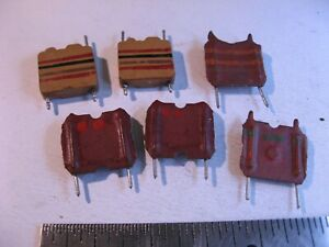 Coil-Inductor-Choke-Radial-PCB-Mount-Assorted-NOS-Qty-6