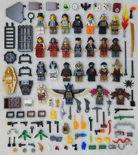 25 NEW LEGO MINIFIG LOT people Men Women + accessories minifigure figure zombie