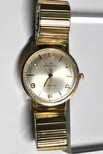 HAMILTON AUTOMATIC WATCH 1977s RUNS 10kt RGP FOR PARTS/REPAIRS #W433