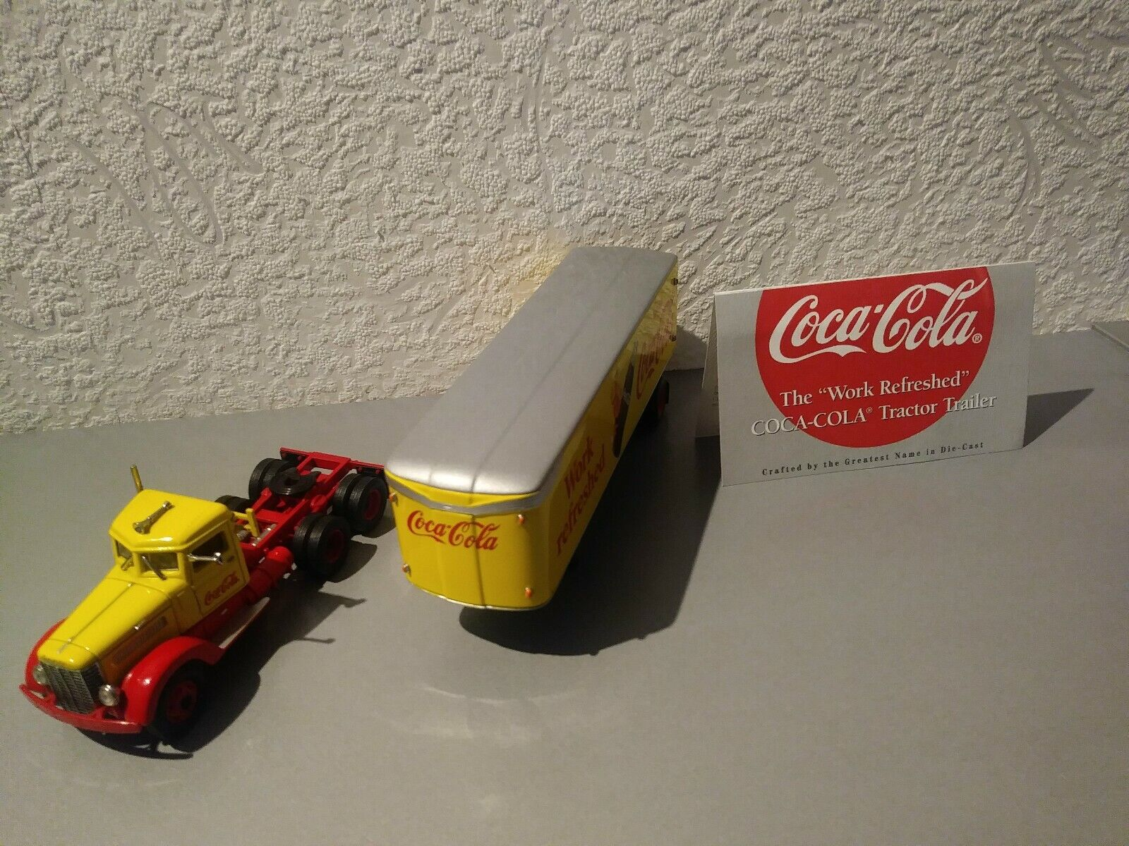 Matchbox Collectibles KingGröße Peterbilt Coca cola 1939 1999 Dinky