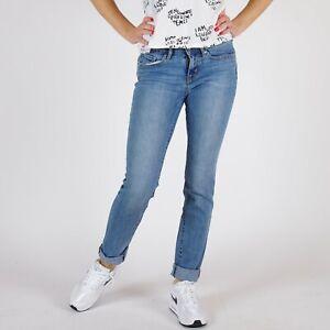 Levi-039-s-712-Slim-Fit-Blau-Damen-Jeans-DE-34-US-W27-L32