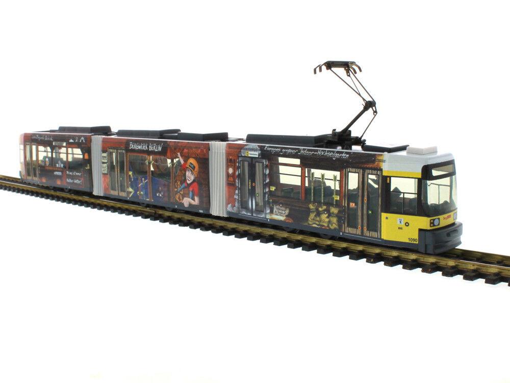 01006, gt6 n lui, BVG Berlino, modello speciale  miniera , ho, 1 87, stand modello, NUOVO