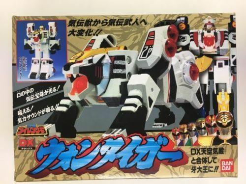 Bandai Dairanger DX Won Tiger Request vit Tiger Zord Super Sentai konstisan F  S