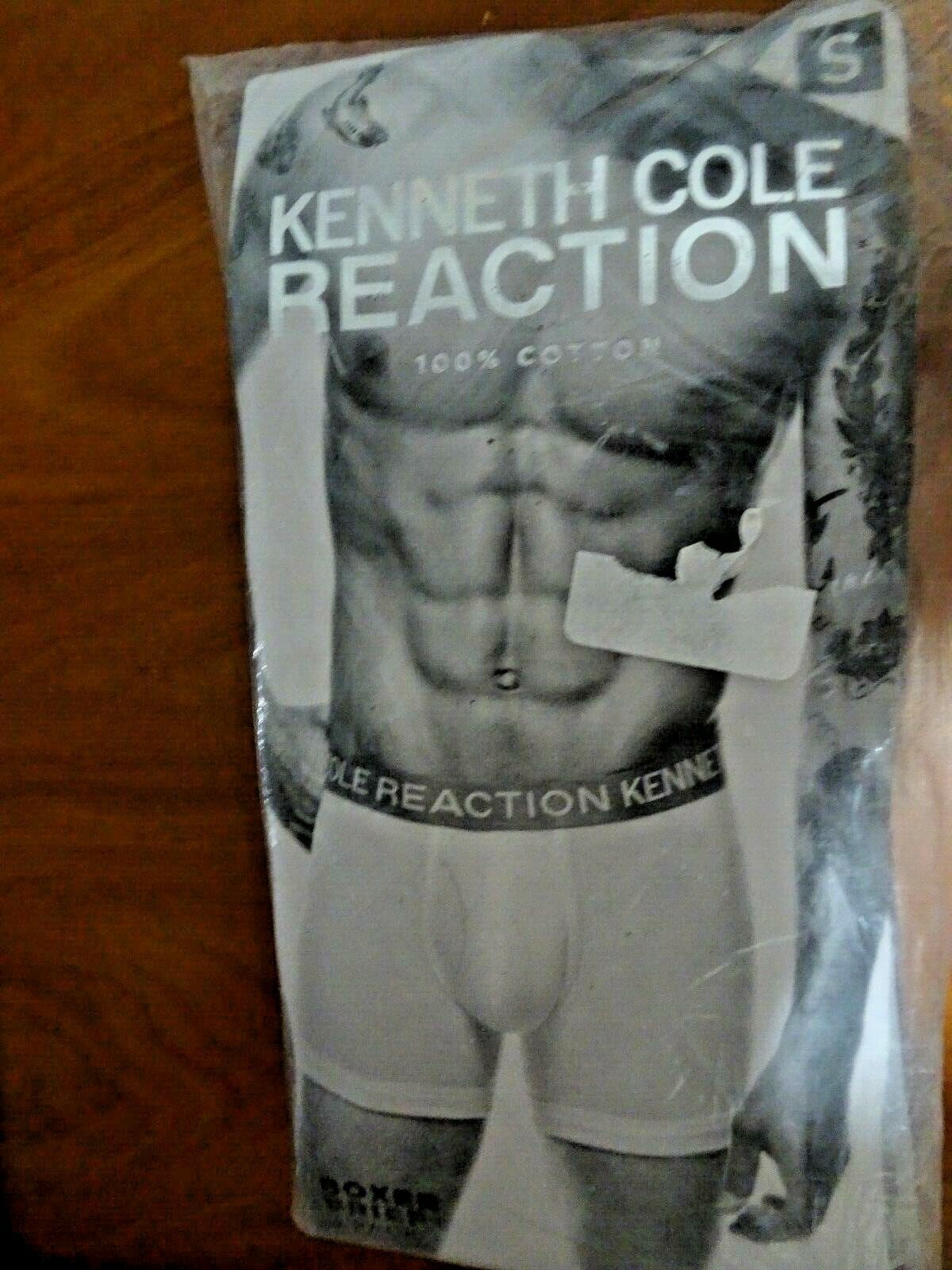 Kenneth Cole Reaction Men/'s Boxer Briefs 3 Pack XL Blue Black Grey New w Tag
