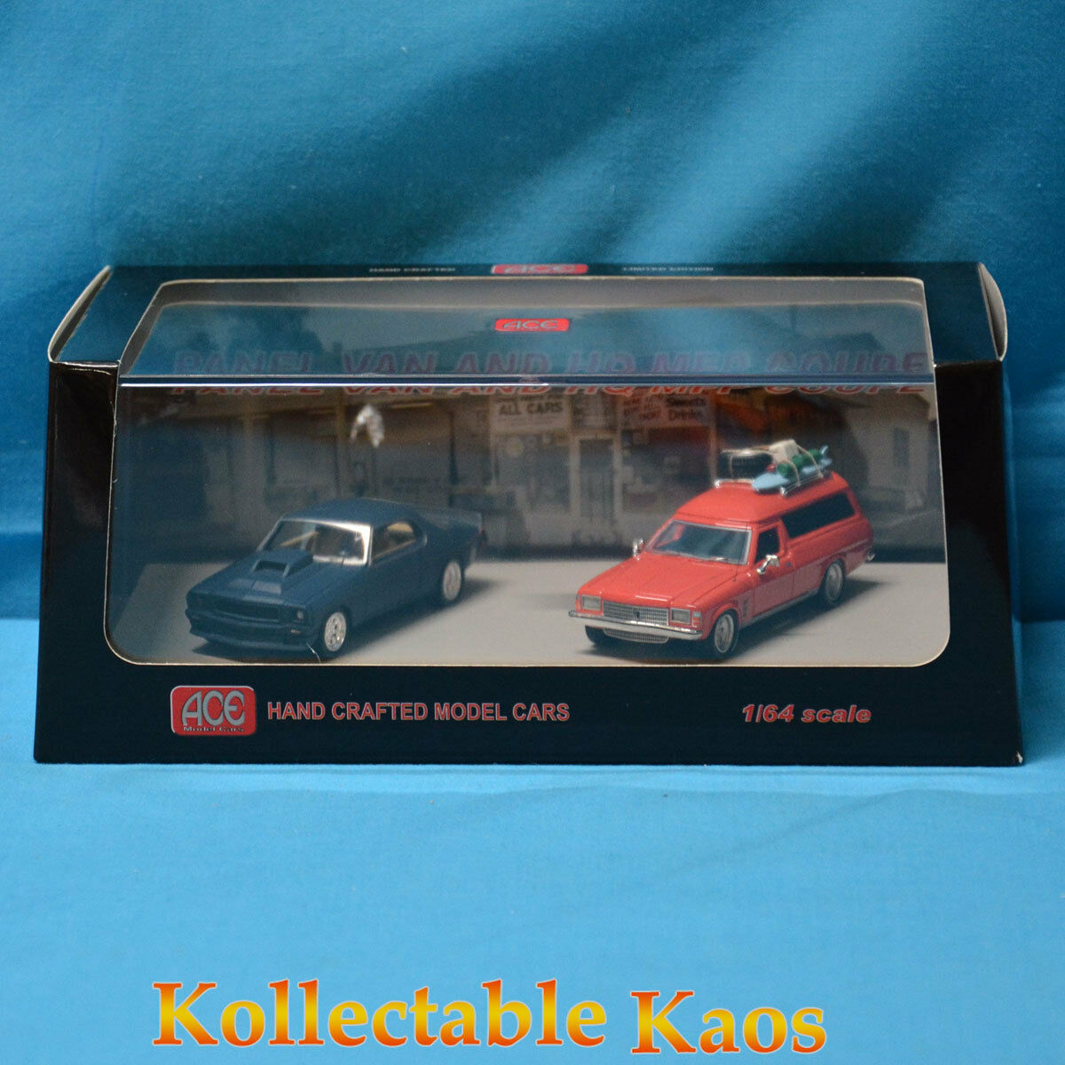 1 64 Ace Models - Holden HQ MFP Coupe & Panel Van