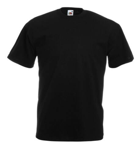 5er//10er Fruit of the Loom T-shirt Homme Shirts Valueweight Sets Tshirt S-XXL