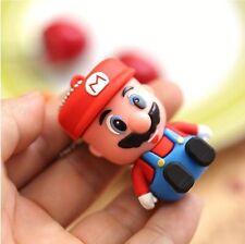 USB 2.0 Memory Stick Flash pen Drive 3D Cartoon Mario 8GB Super Mario