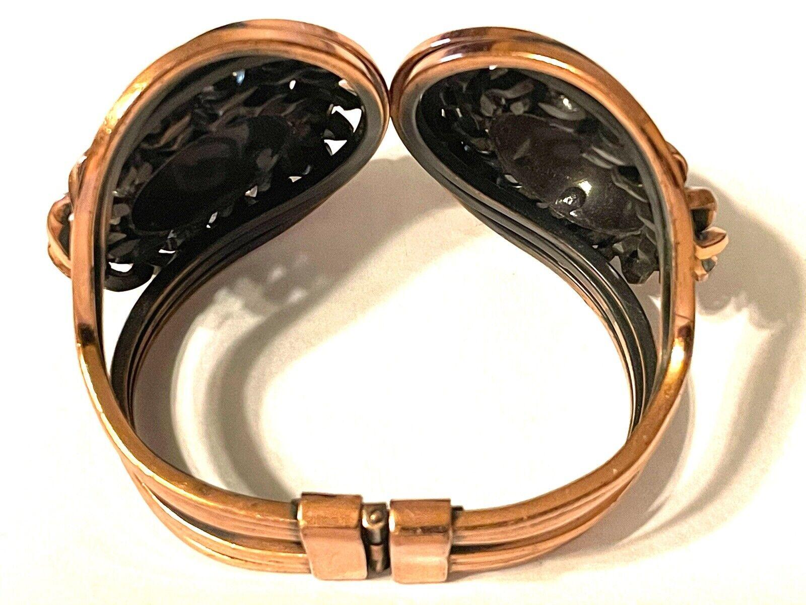 Vintage Mid Century Modern Copper Clamper Bracele… - image 3