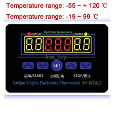 AC 220V Digital LED Temperature Controller 10A Thermostat Control Switch + Probe