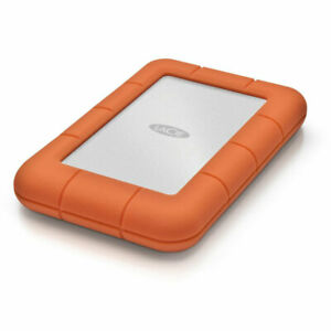 LaCie Rugged Mini USB 3.0 / USB 2.0 1TB External Hard Drive - LAC301558