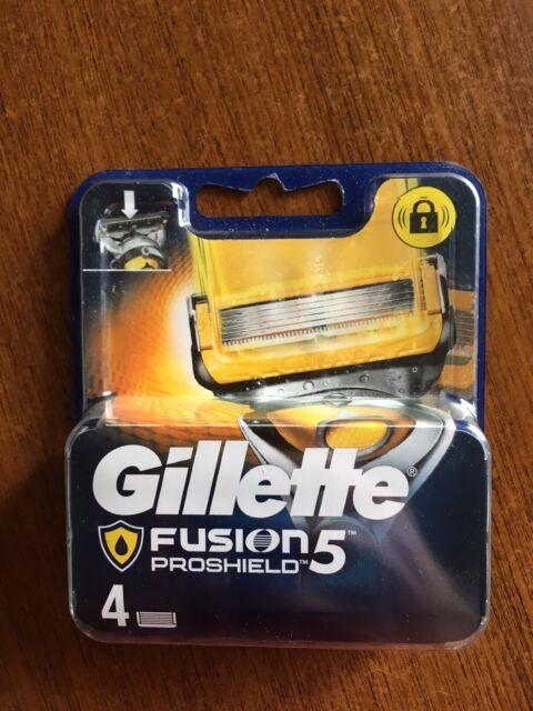 Gillette Fusion ProGlide Lames de Rasoir Recharges - 4 Unités
